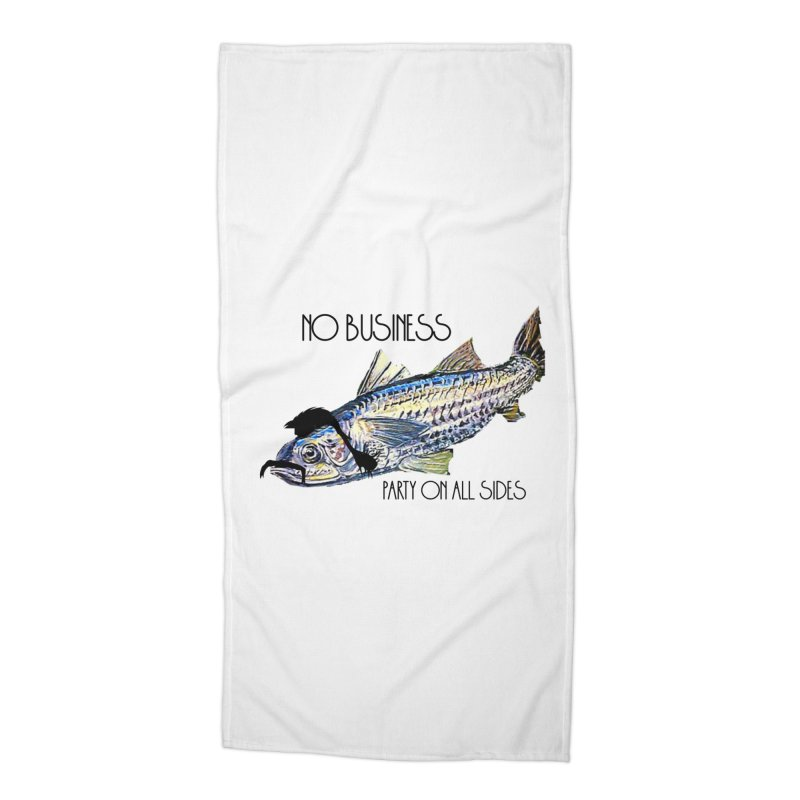 mullet Accessories Beach Towel by joe's shop