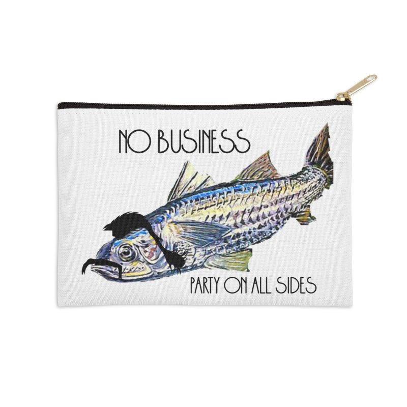 mullet Accessories Zip Pouch by joe's shop