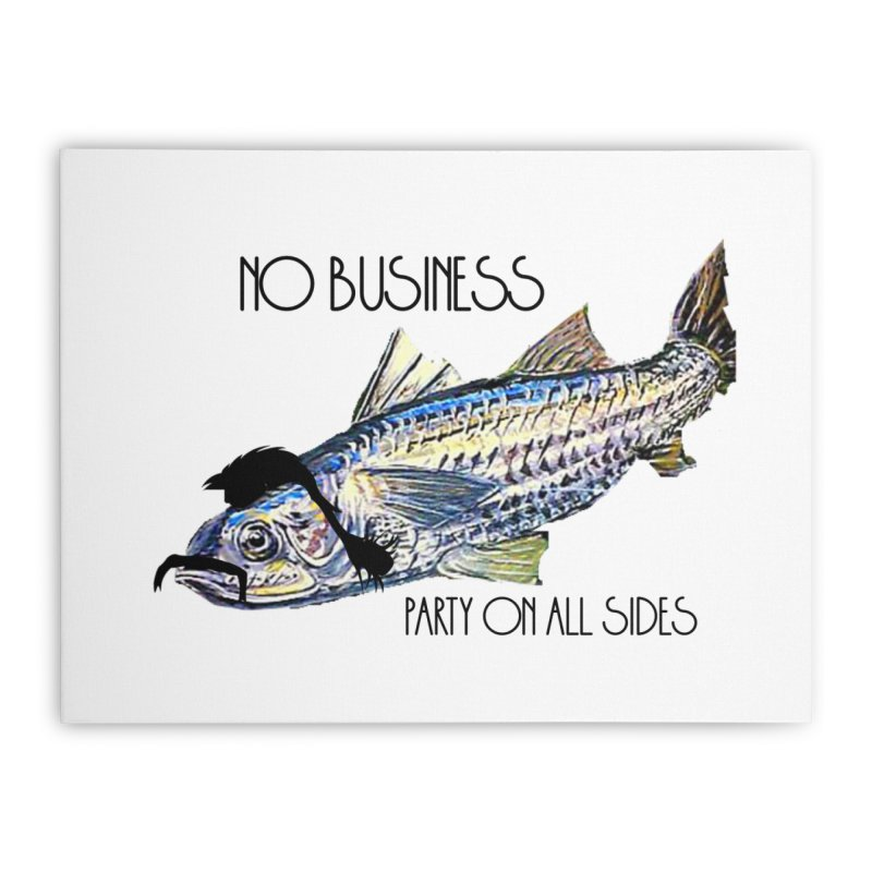 mullet Home Stretched Canvas by joe's shop