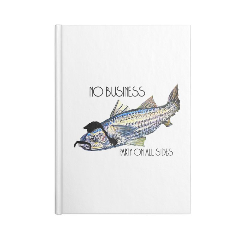 mullet Accessories Blank Journal Notebook by joe's shop