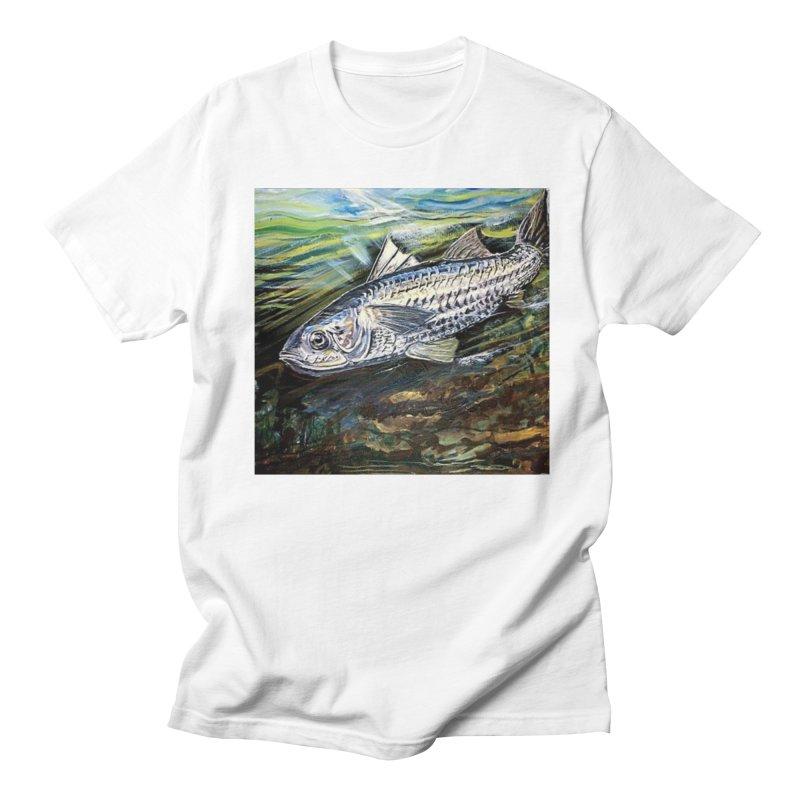 mullet is a fish Men's T-Shirt by joe's shop