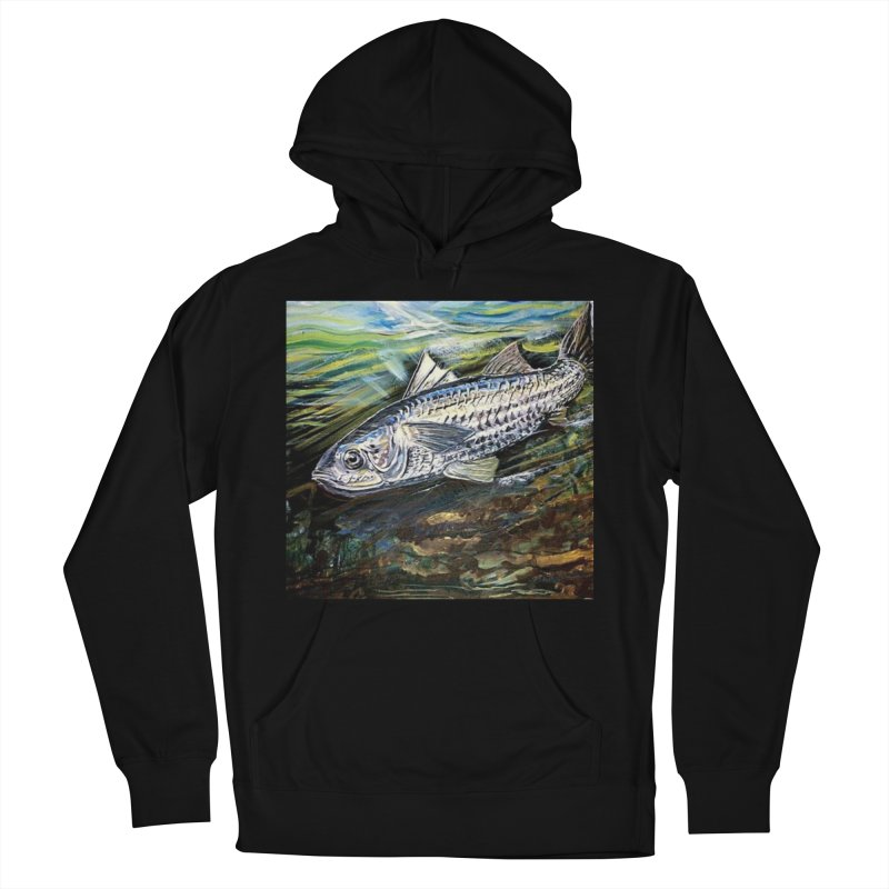 mullet is a fish Men's French Terry Pullover Hoody by joe's shop