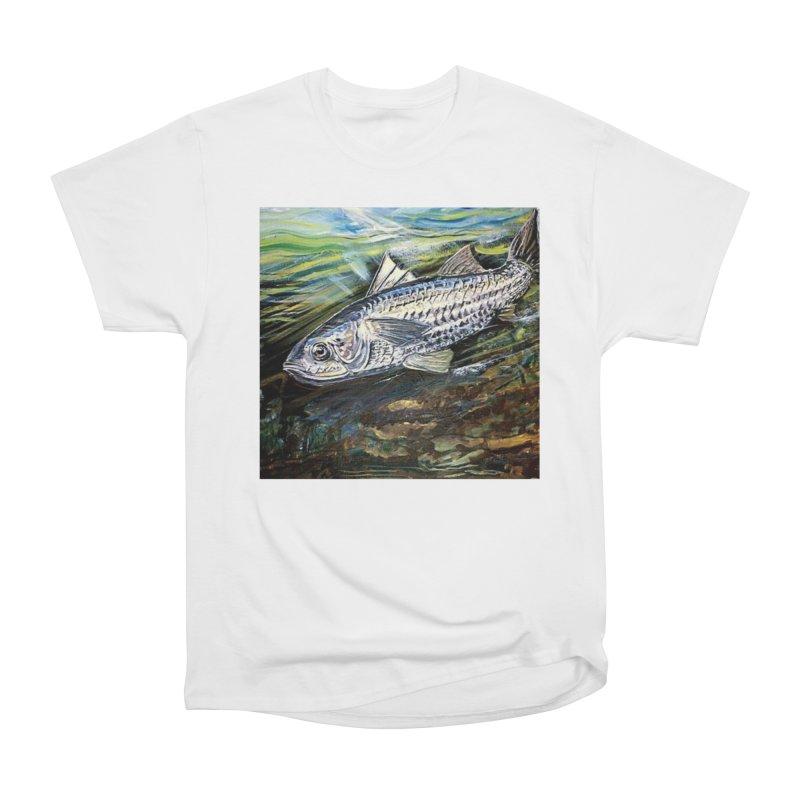 mullet is a fish Men's Heavyweight T-Shirt by joe's shop