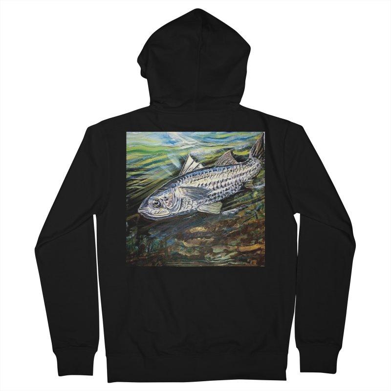 mullet is a fish Men's Zip-Up Hoody by joe's shop