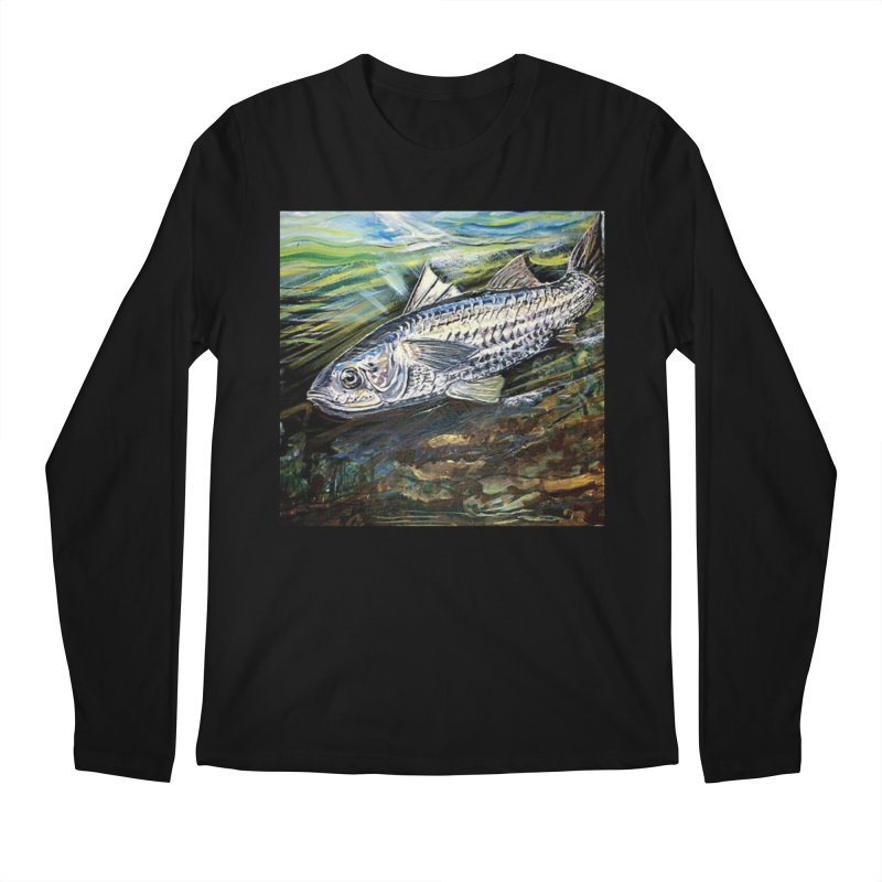mullet is a fish Men's Regular Longsleeve T-Shirt by joe's shop