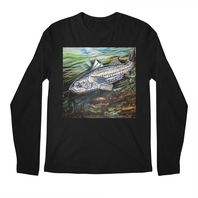 mullet is a fish Men's Regular Longsleeve T-Shirt by joe's shop
