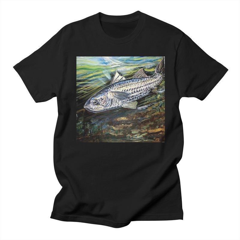 mullet is a fish Men's Regular T-Shirt by joe's shop