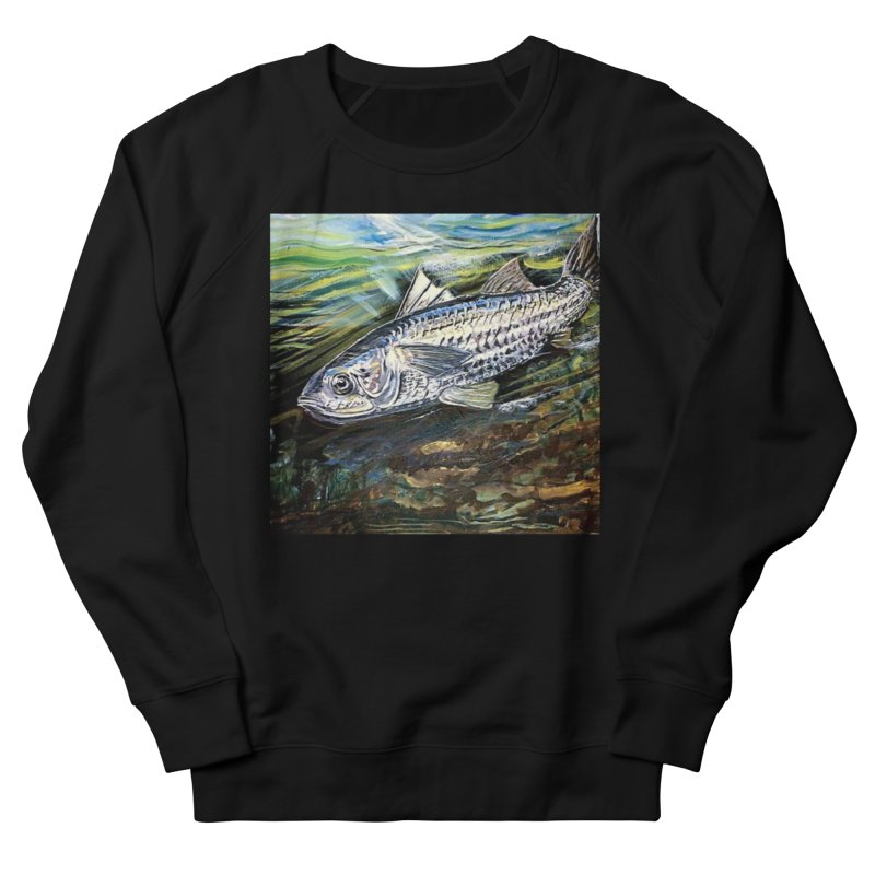 mullet is a fish Men's French Terry Sweatshirt by joe's shop