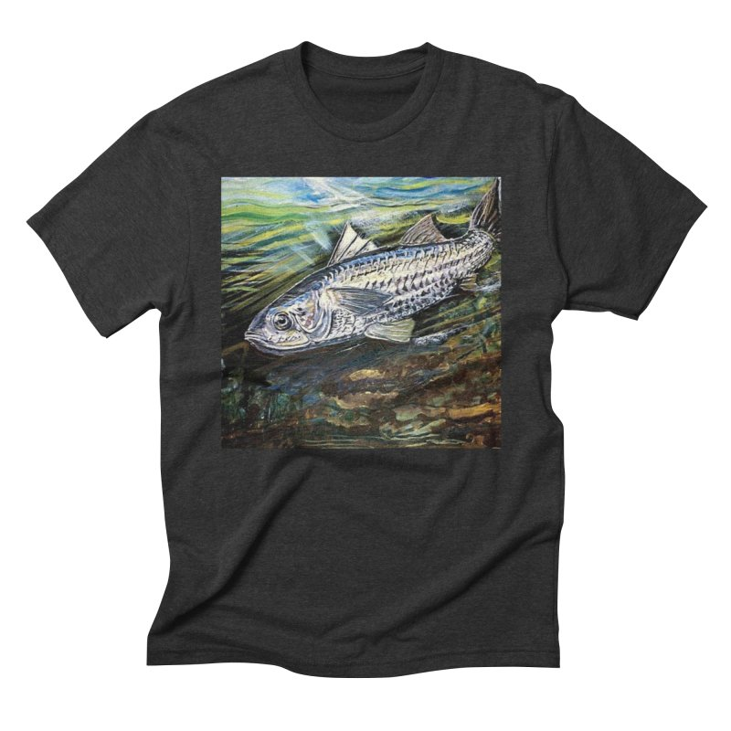 mullet is a fish Men's Triblend T-Shirt by joe's shop