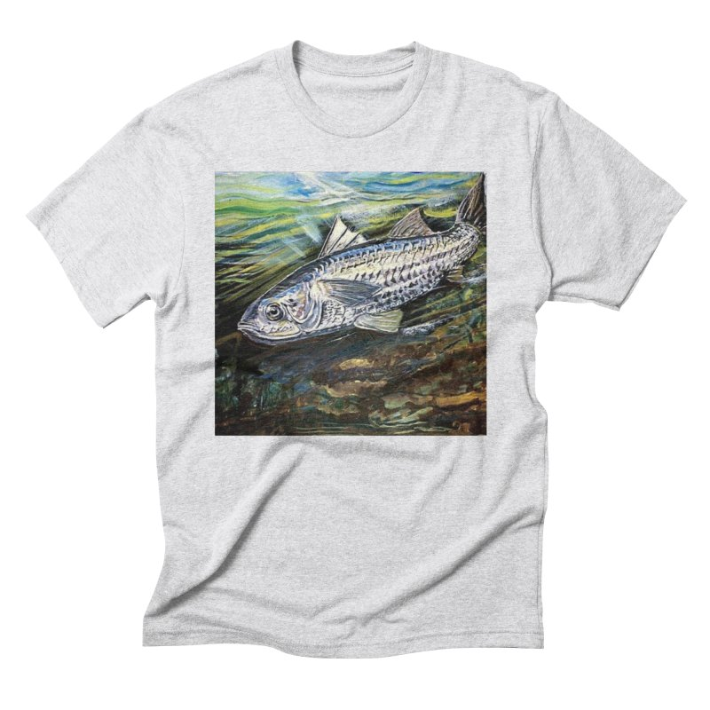 mullet is a fish Men's Triblend T-Shirt by joe's shop