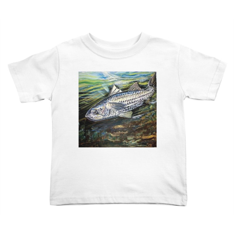 mullet is a fish Kids Toddler T-Shirt by joe's shop