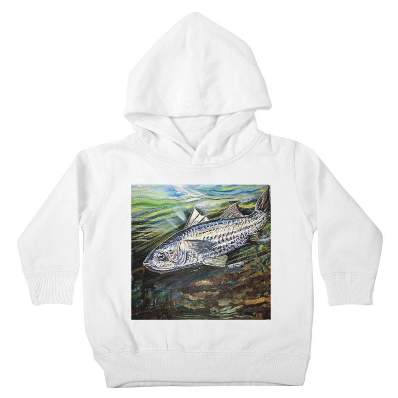 mullet is a fish Kids Toddler Pullover Hoody by joe's shop