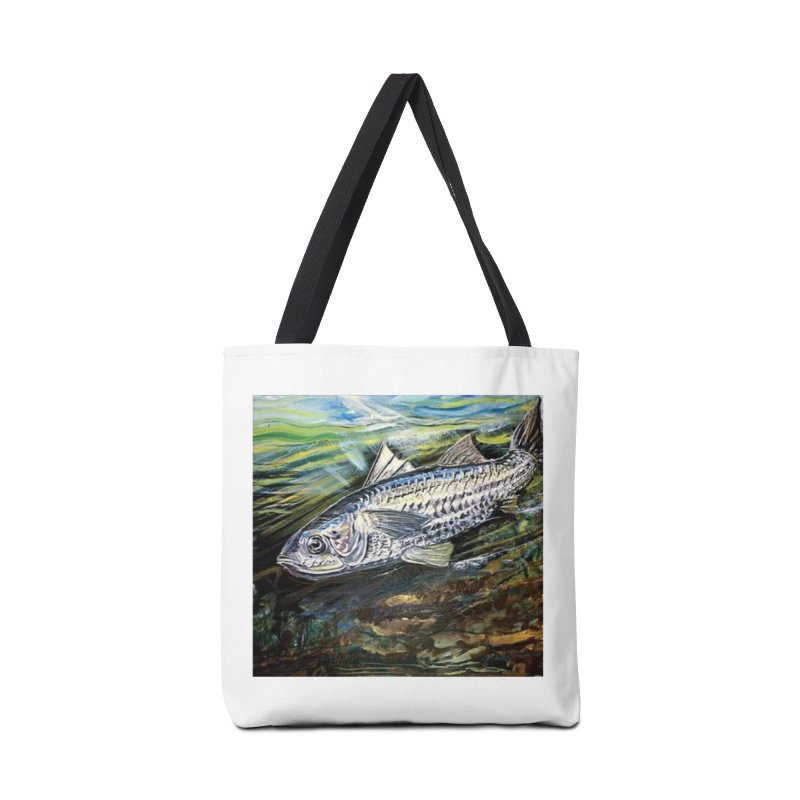 mullet is a fish Accessories Tote Bag Bag by joe's shop
