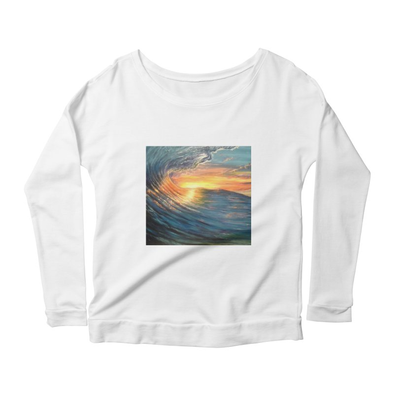 views Women's Scoop Neck Longsleeve T-Shirt by joe's shop