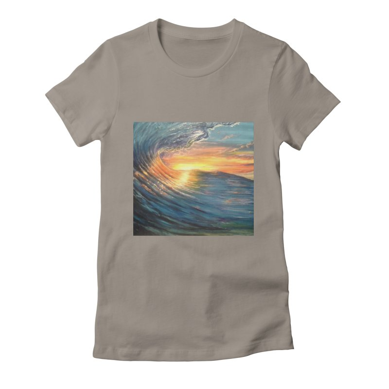 views Women's Fitted T-Shirt by joe's shop