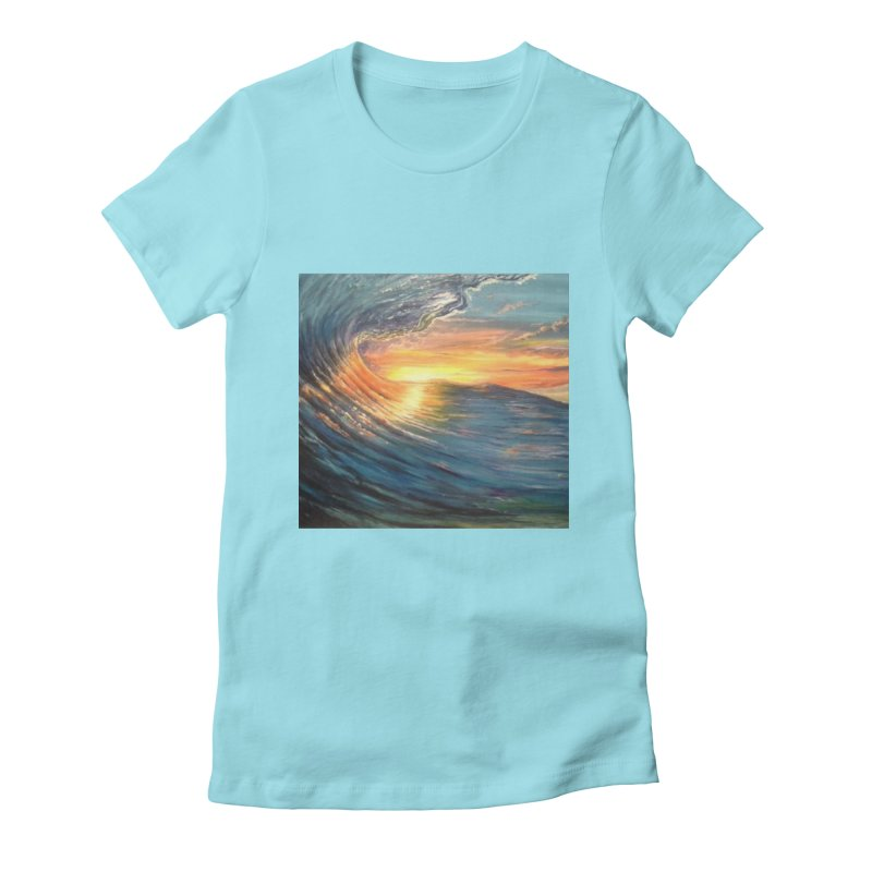 views Women's Fitted T-Shirt by joe's shop