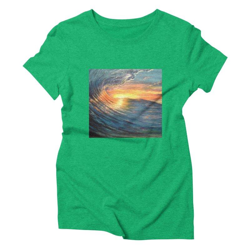 views Women's Triblend T-Shirt by joe's shop