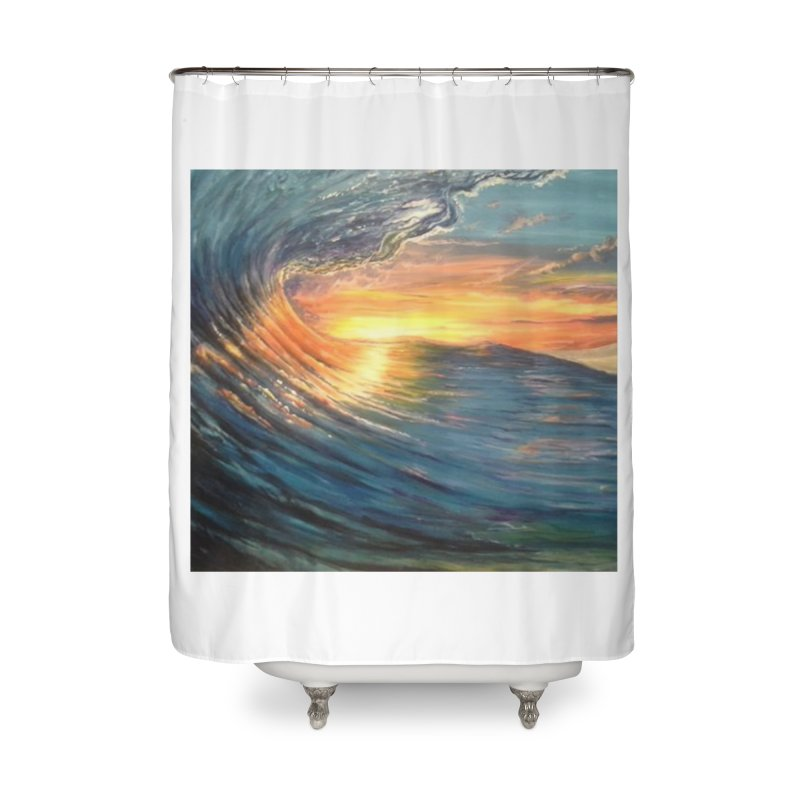 views Home Shower Curtain by joe's shop