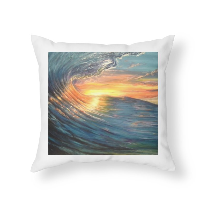 views Home Throw Pillow by joe's shop