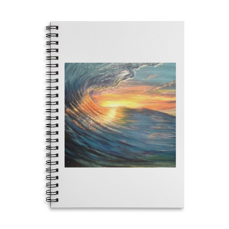 views Accessories Lined Spiral Notebook by joe's shop