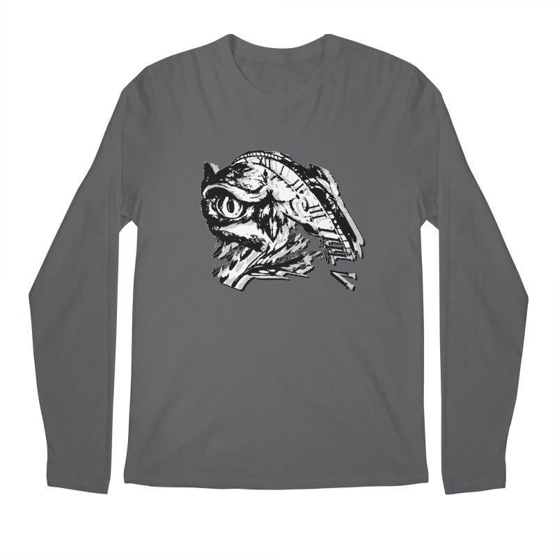 night owl Men's Longsleeve T-Shirt by joe's shop