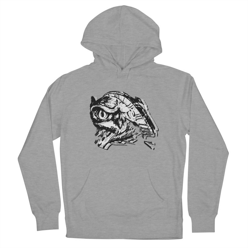 night owl Women's French Terry Pullover Hoody by joe's shop