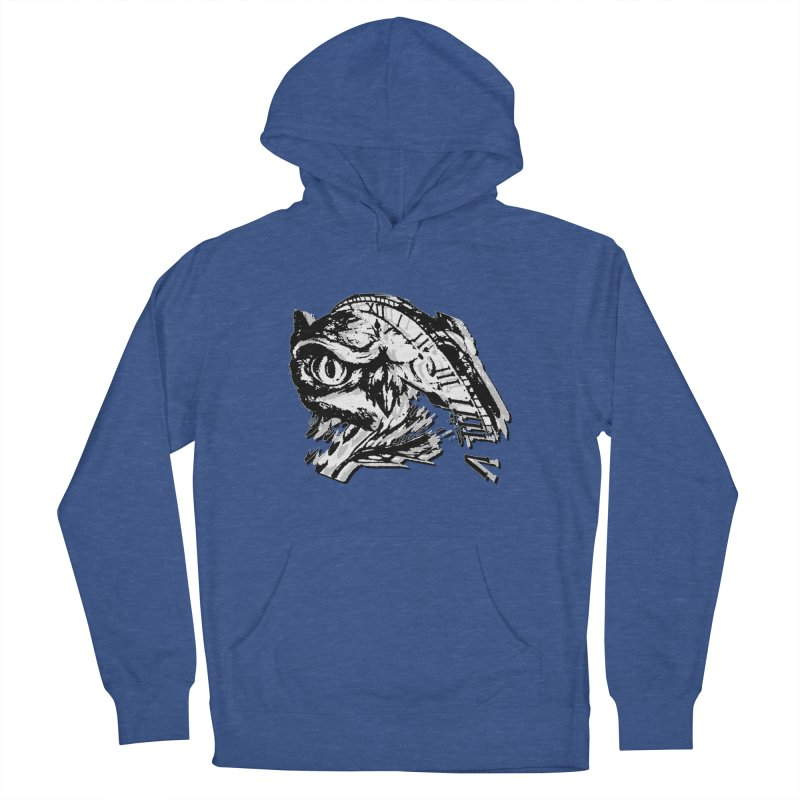night owl Men's French Terry Pullover Hoody by joe's shop