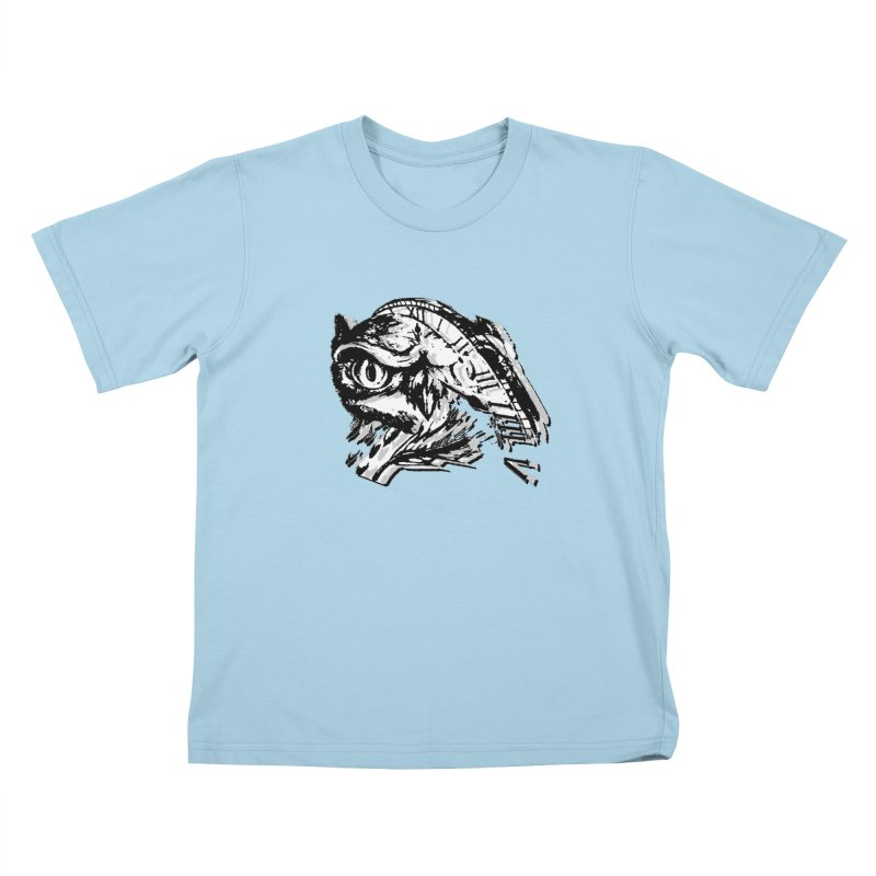 night owl Kids T-Shirt by joe's shop