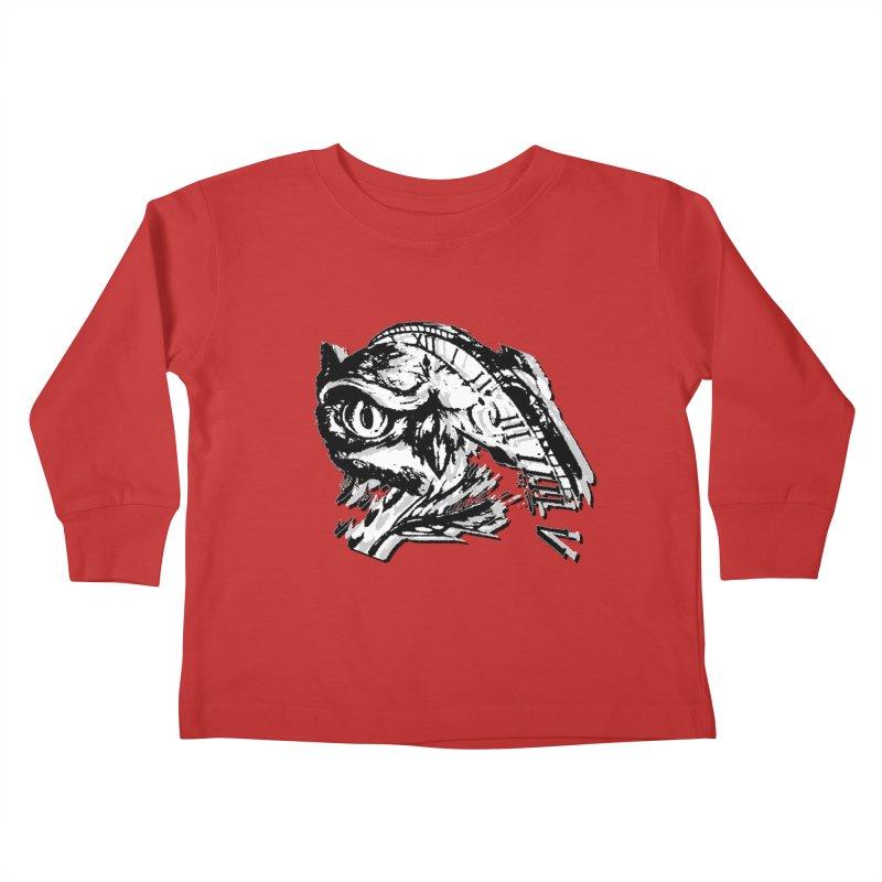 night owl Kids Toddler Longsleeve T-Shirt by joe's shop