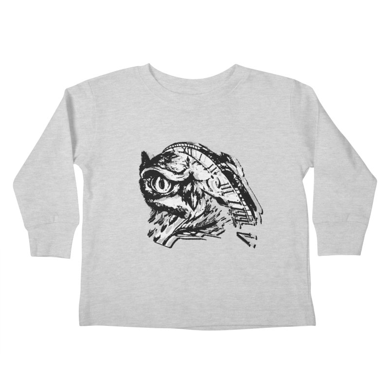 night owl Kids Toddler Longsleeve T-Shirt by joe's shop