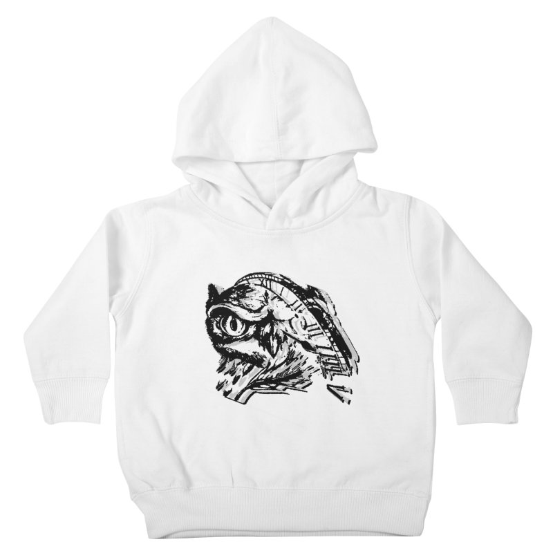 night owl Kids Toddler Pullover Hoody by joe's shop