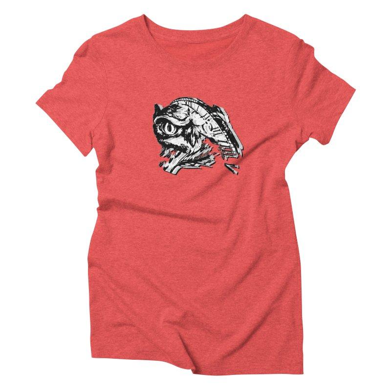 night owl Women's Triblend T-Shirt by joe's shop