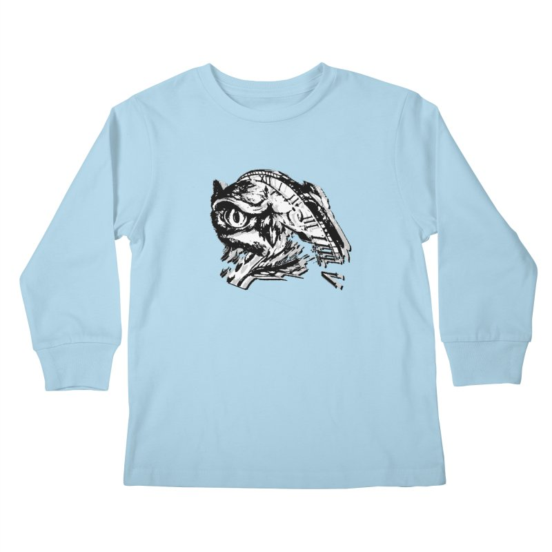 night owl Kids Longsleeve T-Shirt by joe's shop