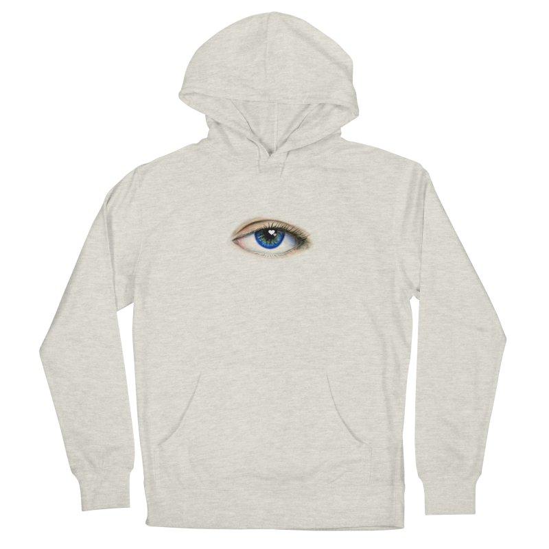 eye love Men's French Terry Pullover Hoody by joe's shop