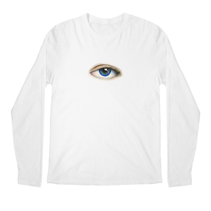eye love Men's Regular Longsleeve T-Shirt by joe's shop
