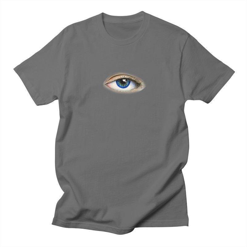 eye love Men's T-Shirt by joe's shop