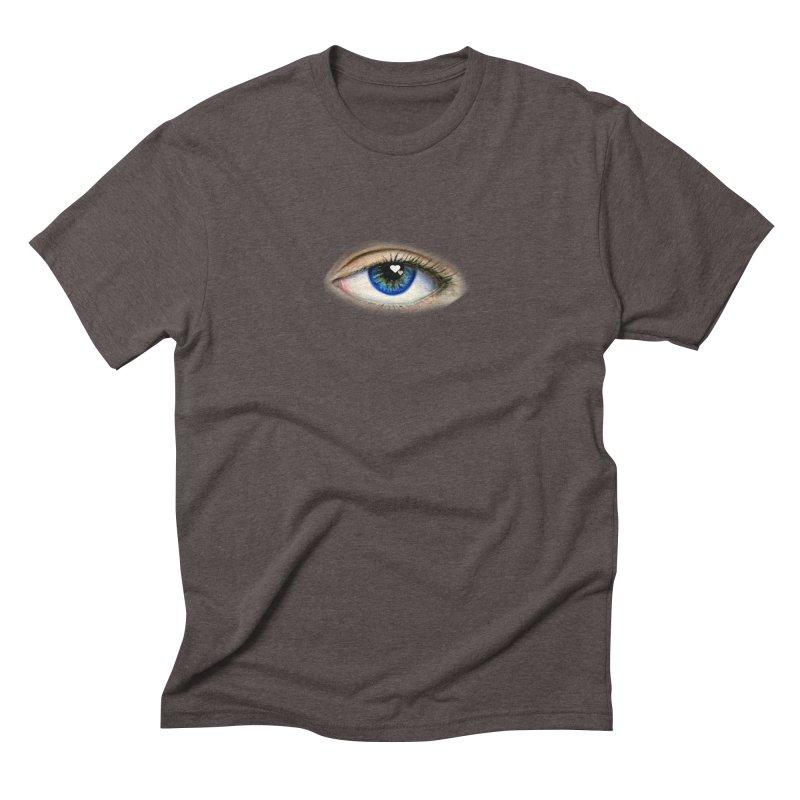 eye love Men's Triblend T-Shirt by joe's shop