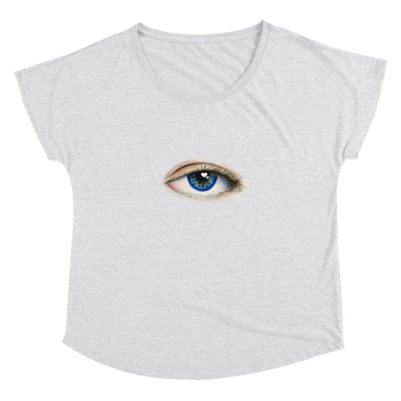 eye love Women's Dolman Scoop Neck by joe's shop