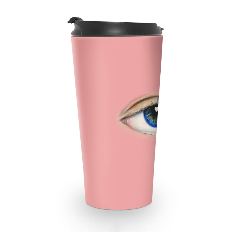 eye love Accessories Travel Mug by joe's shop
