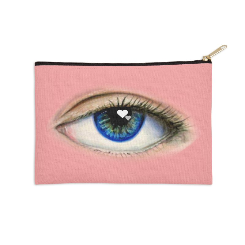 eye love Accessories Zip Pouch by joe's shop