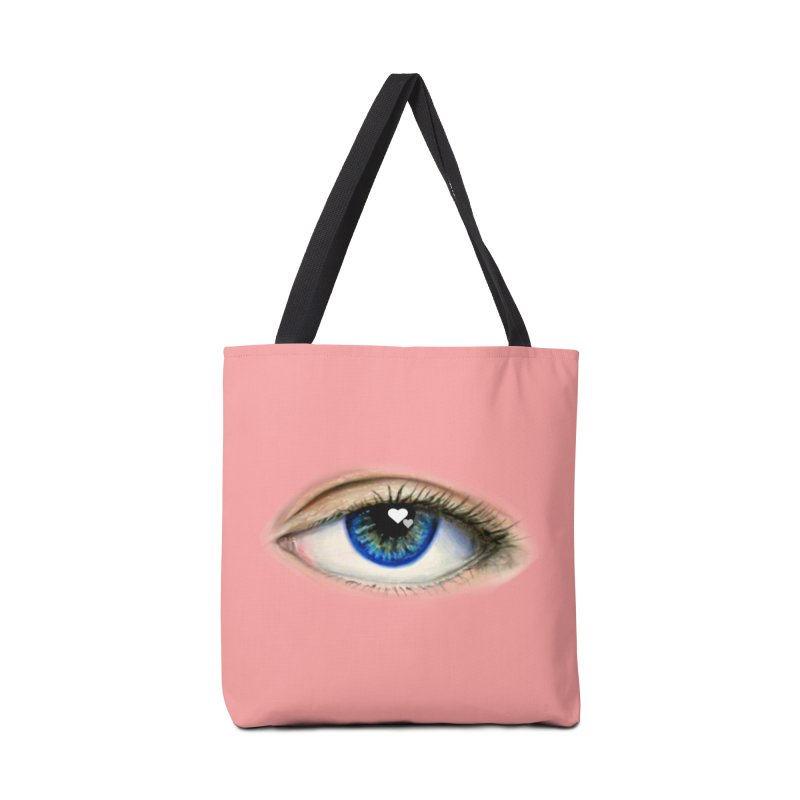 eye love Accessories Tote Bag Bag by joe's shop