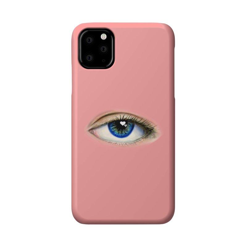 eye love Accessories Phone Case by joe's shop