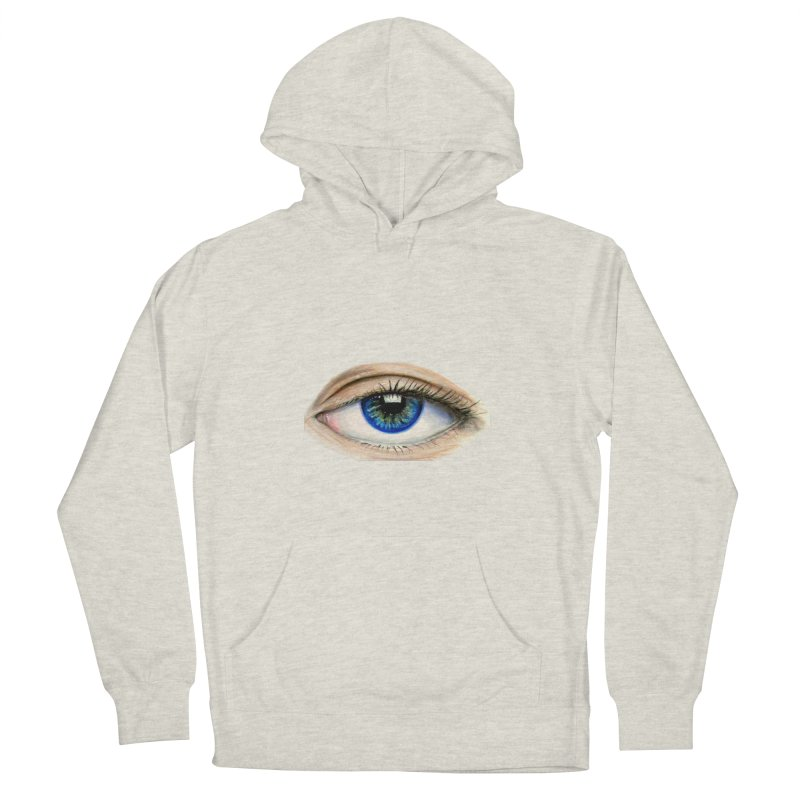 eye believe Men's French Terry Pullover Hoody by joe's shop
