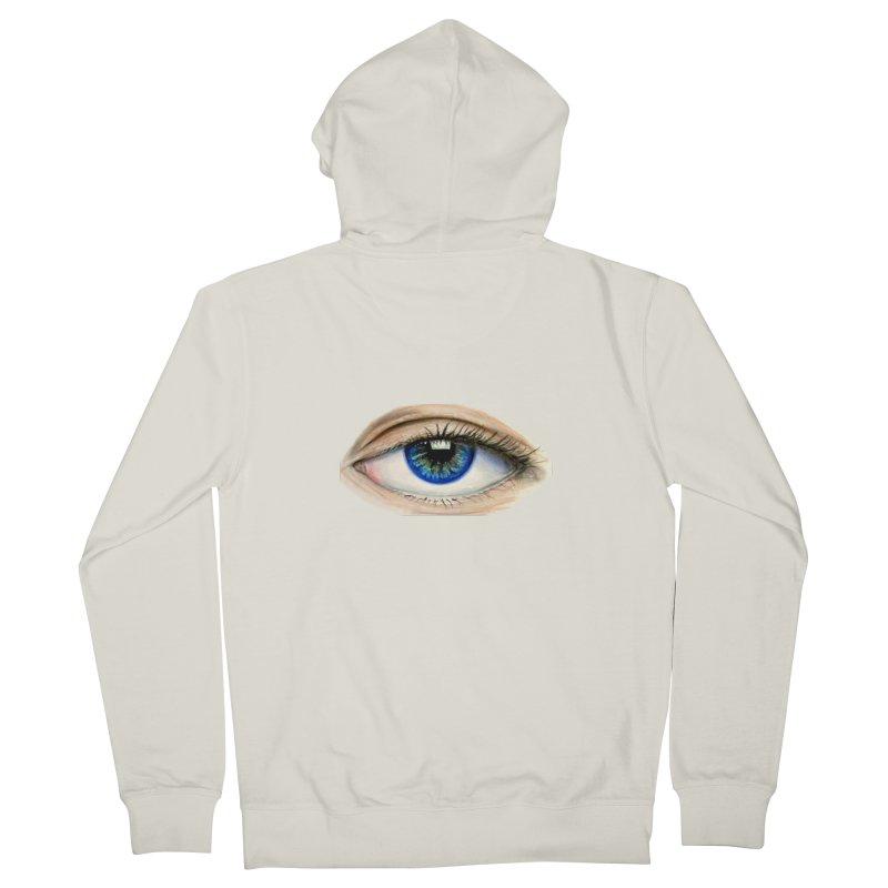 eye believe Women's Zip-Up Hoody by joe's shop