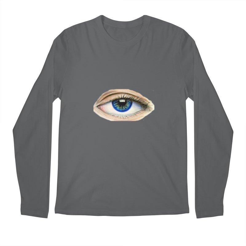 eye believe Men's Regular Longsleeve T-Shirt by joe's shop