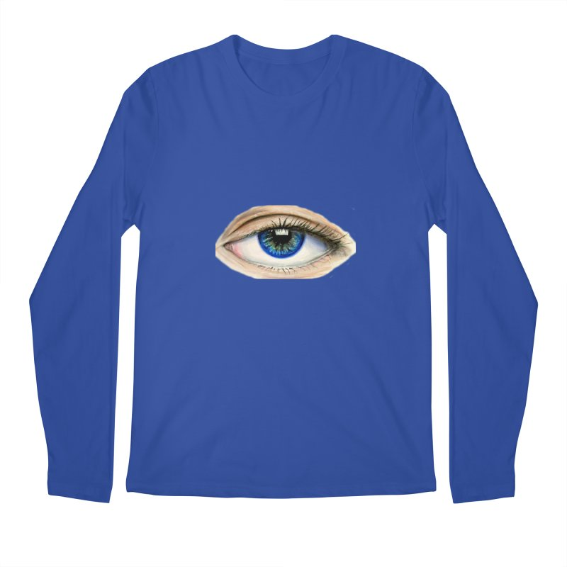 eye believe Men's Regular Longsleeve T-Shirt by joe's shop