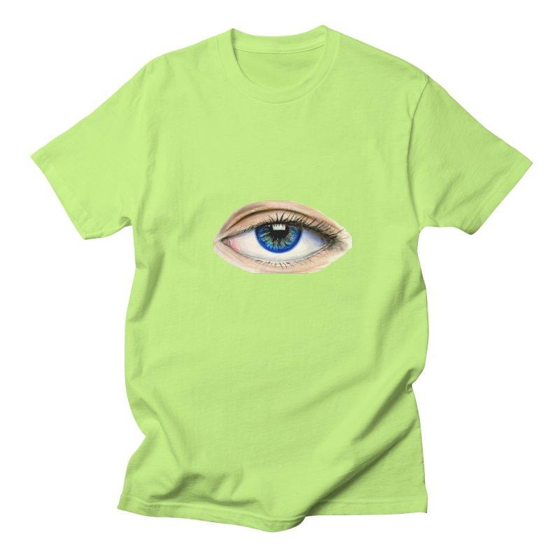 eye believe Men's Regular T-Shirt by joe's shop