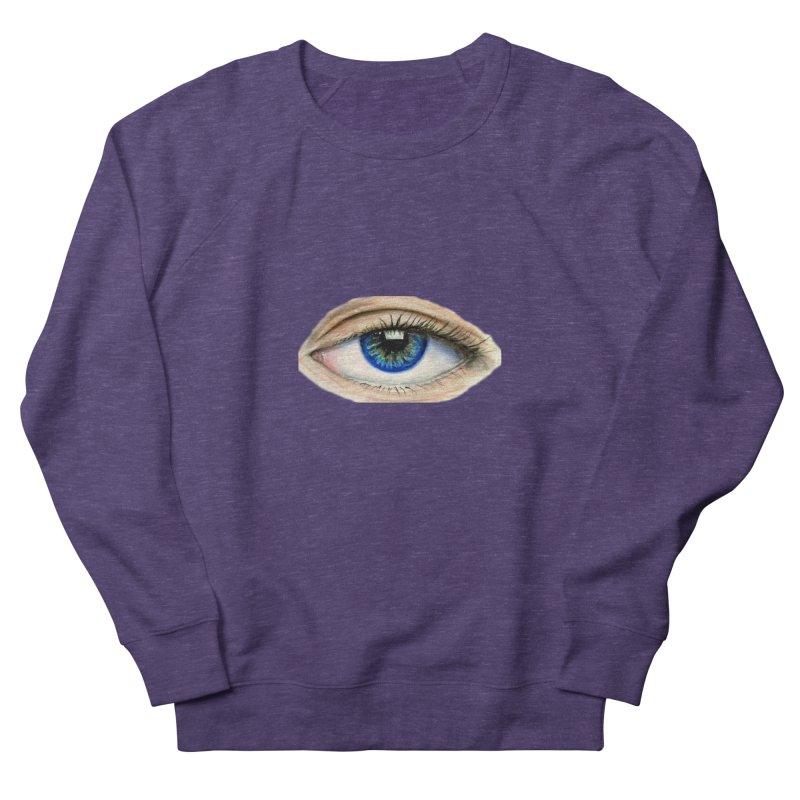 eye believe Women's French Terry Sweatshirt by joe's shop