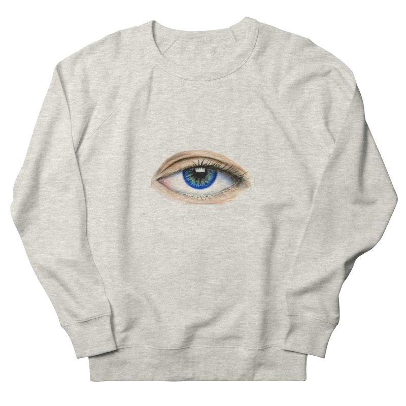 eye believe Women's French Terry Sweatshirt by joe's shop