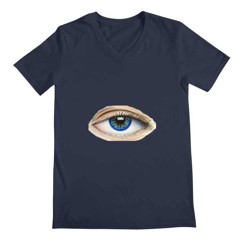 eye believe Men's Regular V-Neck by joe's shop